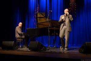 Pianisten Tor Einar Bekken og munnspillvirtuosen Richard Gjems